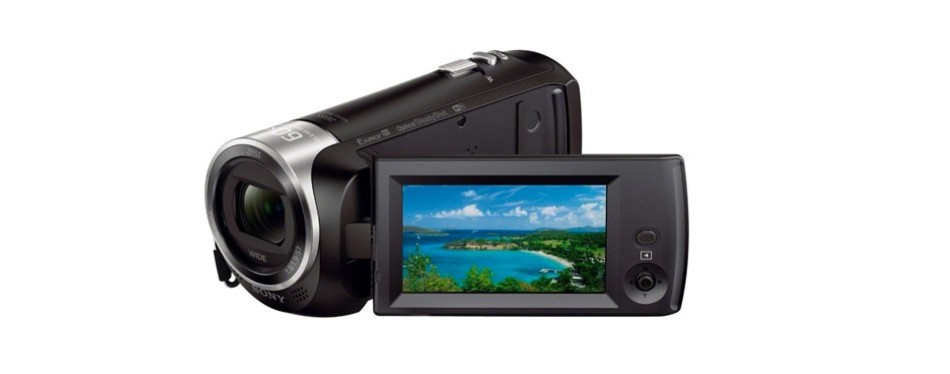 sony hdr-cx440 full hd camcorder bundle