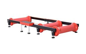 soozier parabolic roller bike trainer