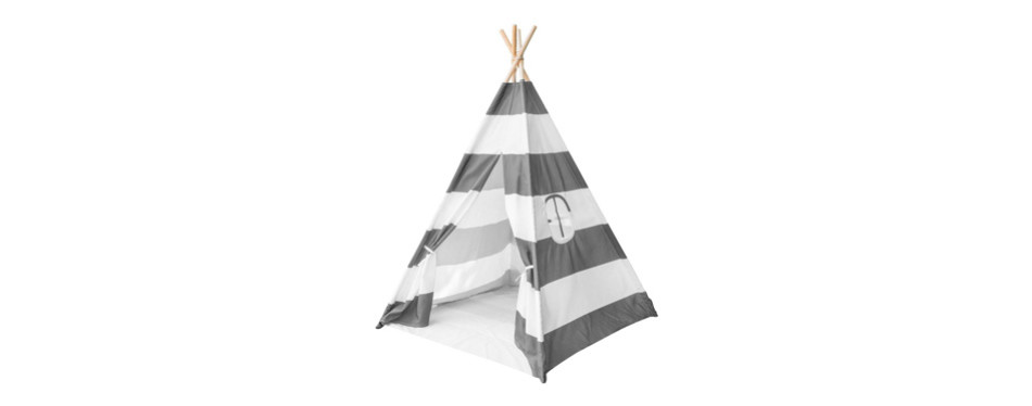 sorbus kids foldable teepee play tent