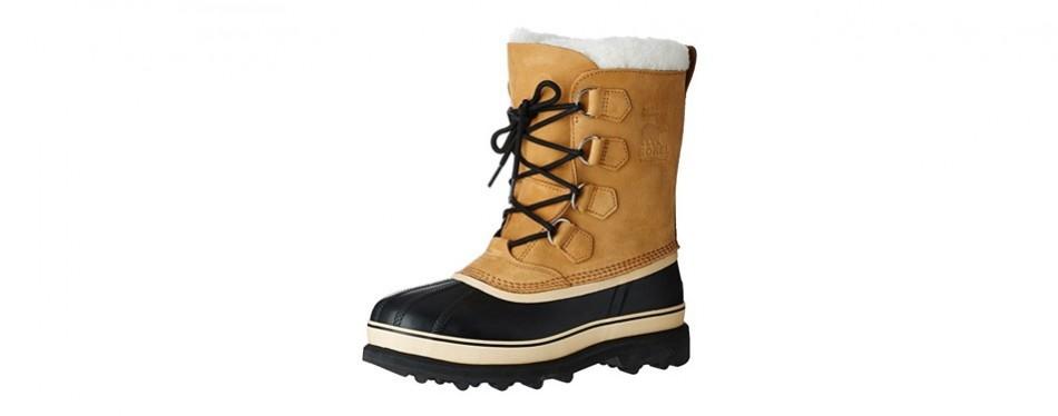sorel men's caribou ii winter boots