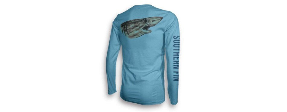 southern fin apparel performance long sleeve fishing shirt
