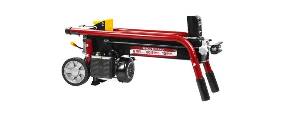 southland outdoor power equipment 6 ton electric log splitter