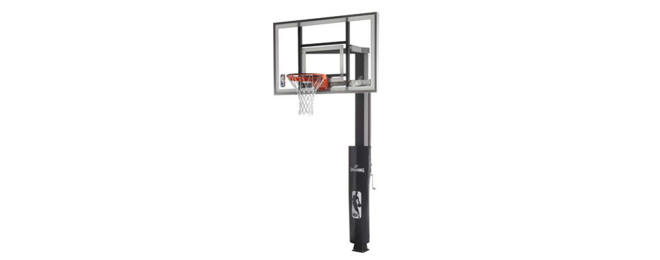 spalding in-ground basketball hoop system