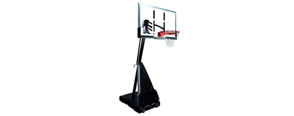 spalding nba portable basketball hoop system