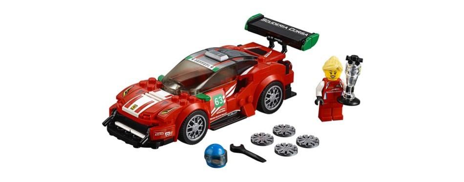 speed champions ferrari 488 gt3 lego car