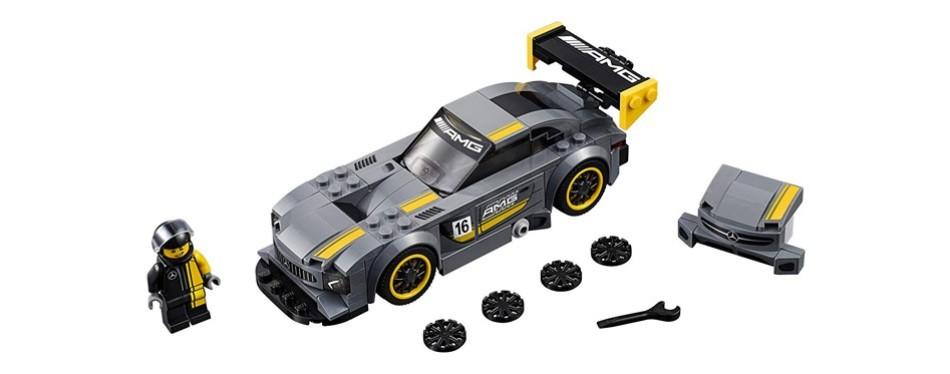speed champions mercedes-amg lego car