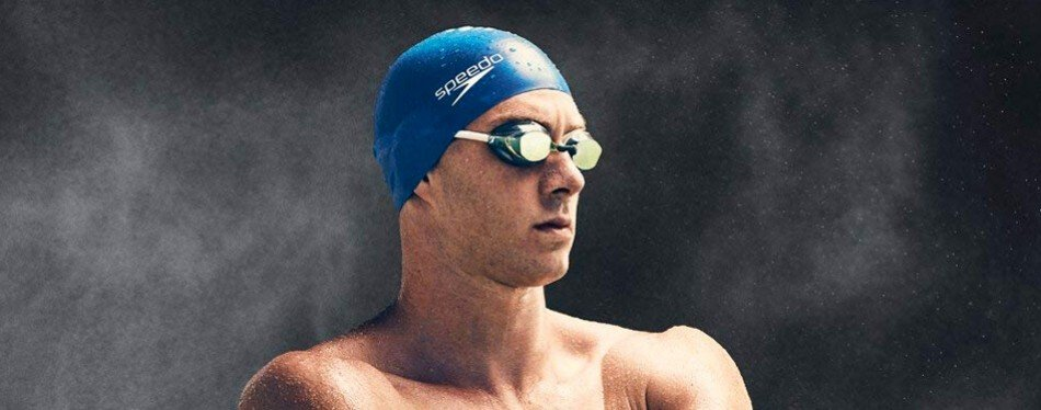 speedo vanquisher 2.0 mirrored swim goggle