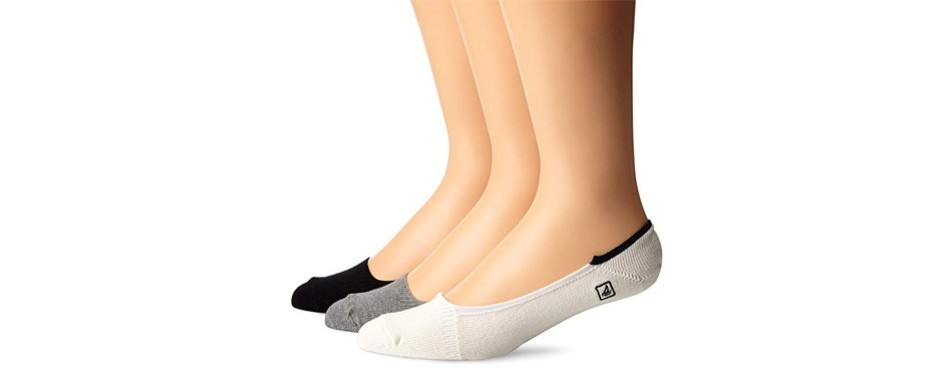 sperry skimmers stripe liner no show socks