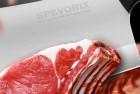 spevorix stainless steel chef's cleaver