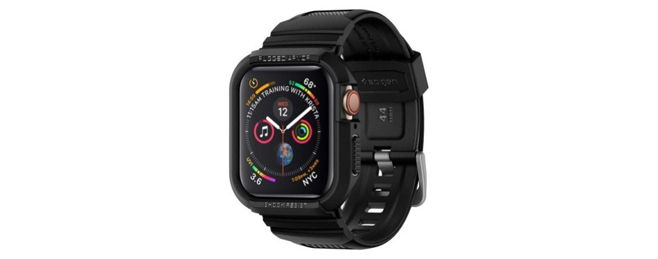 spigen rugged armor pro apple watch case series 4
