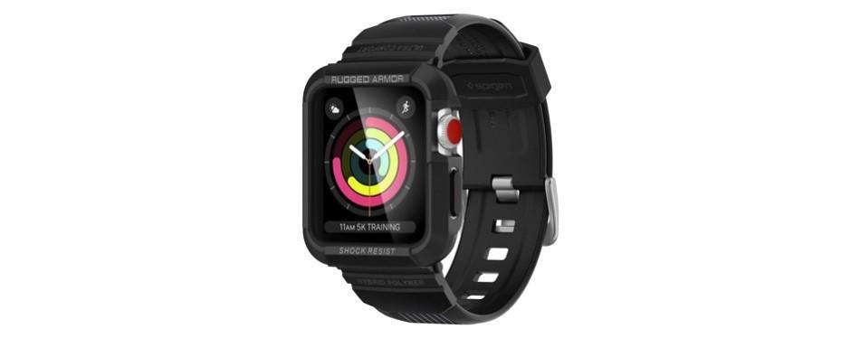 spigen rugged armor pro apple watch case series 3/2/1