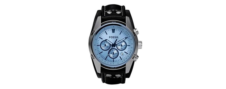 sport cuff ch stainless steel watch