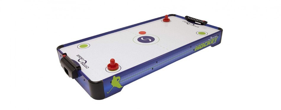 sport squad 40 inch tabletop air hockey table
