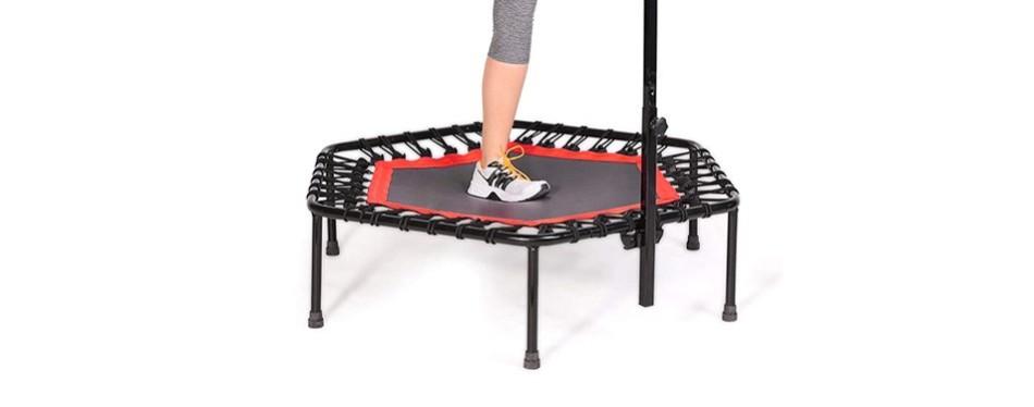 sportplus silent fitness mini trampoline