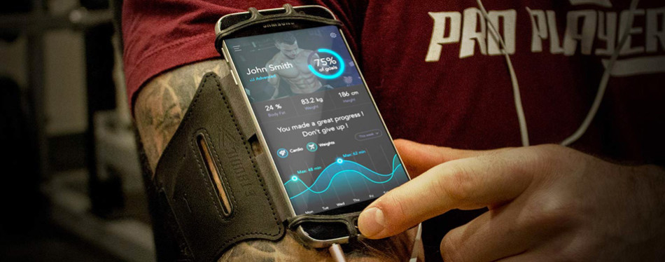 sports armband: cell phone holder
