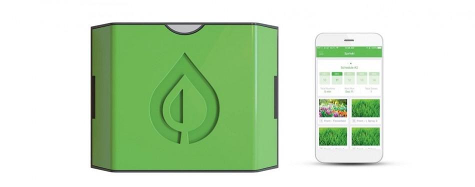 sprinkl sr-400 hub smart sprinkler system