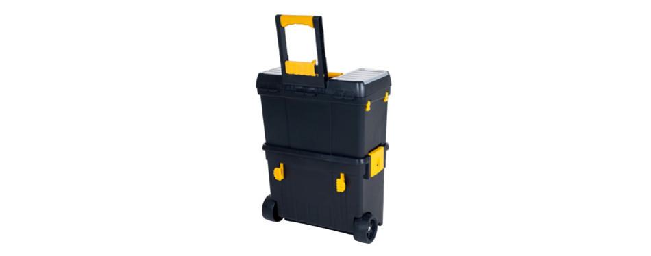 stalwart heavy duty rolling toolbox