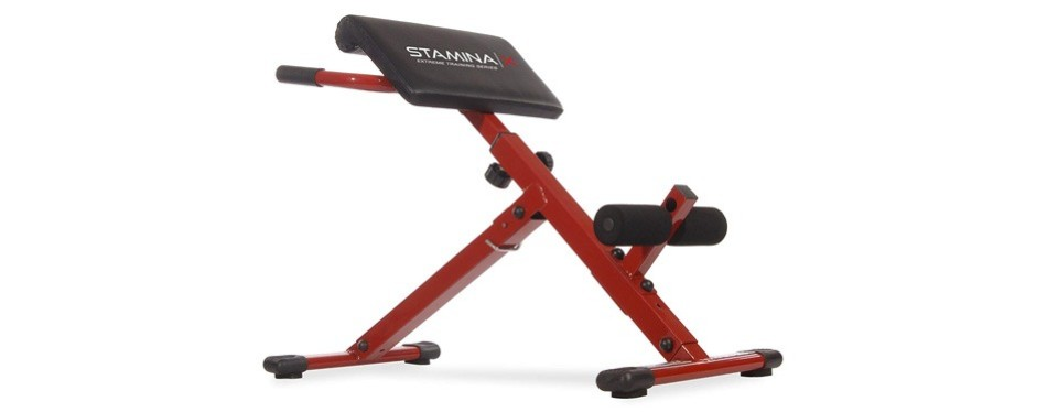 stamina hyper workout bench