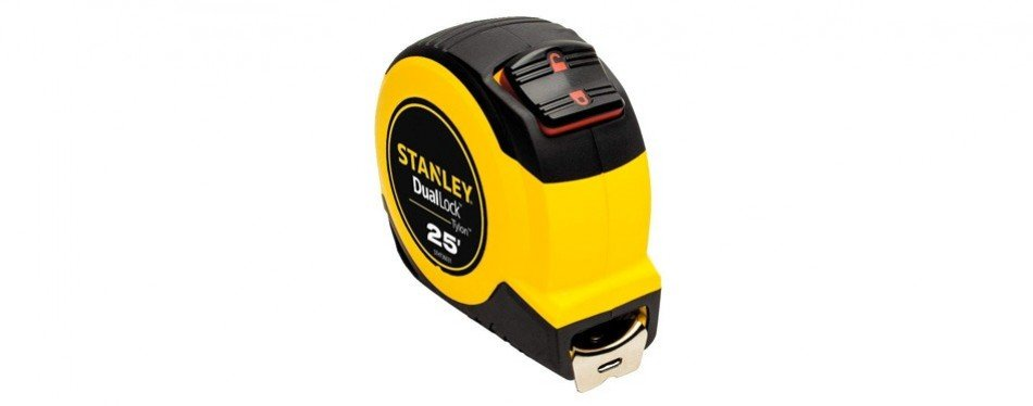 stanley duallock 25' tape measure