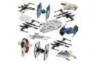 star wars hot wheels spaceship models toys set