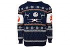 star wars official x-wing vs. tie fighter christmas jumper