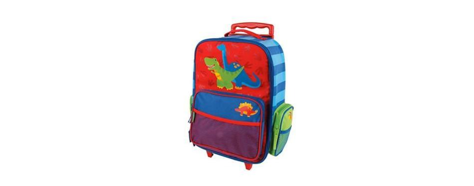 stephen joseph girls classic rolling luggage