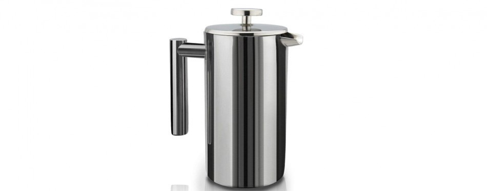 sterlingpro double-wall stainless steel cafetiere