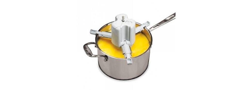 stirchef saucepan stirrer handsfree stovetop cooking