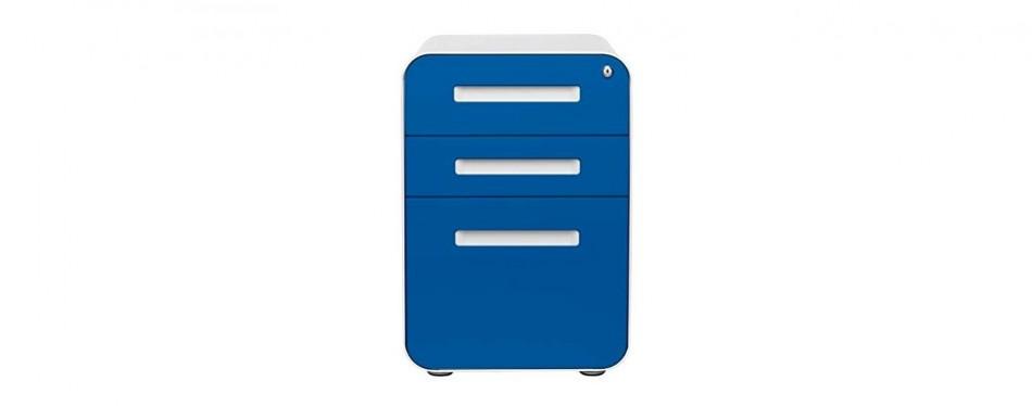 stockpile 3- drawer mobile file cabinet