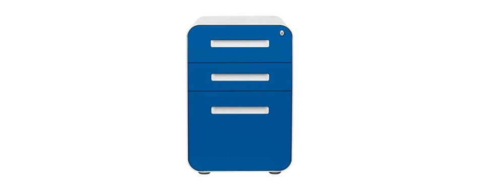 stockpile 3- drawer mobile file cabinet