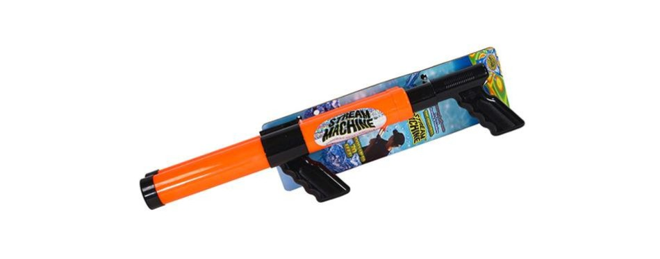 stream machine double barrel water launcher