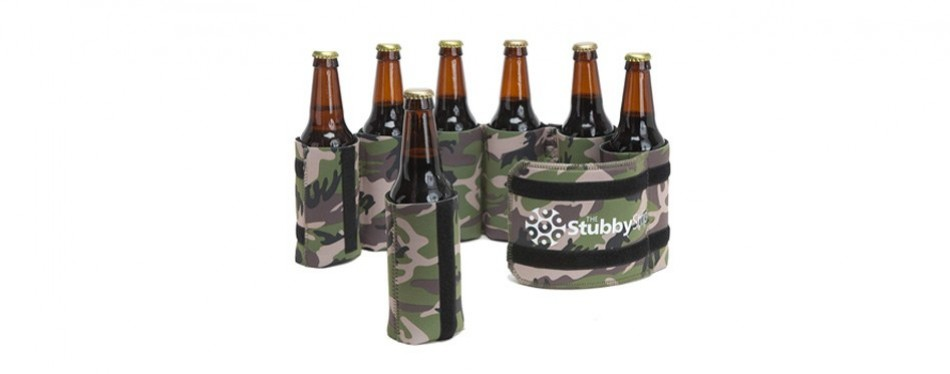 stubby strip bottle and can holder