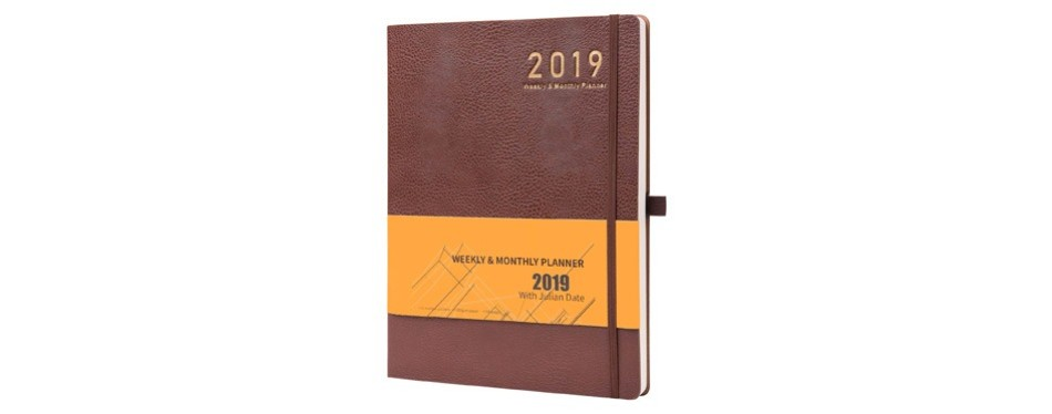 student planner 2019 with pen holder