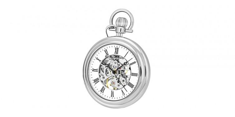 stuhrling mechanical vintage pocket watch