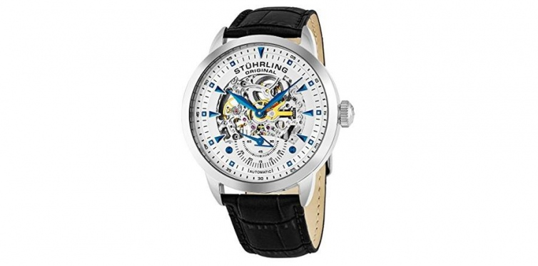 Stuhrling Original Men's Executive Automatic Skeleton Watch