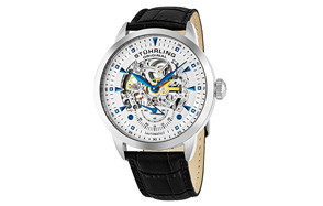 stuhrling original mens executive automatic skeleton watch