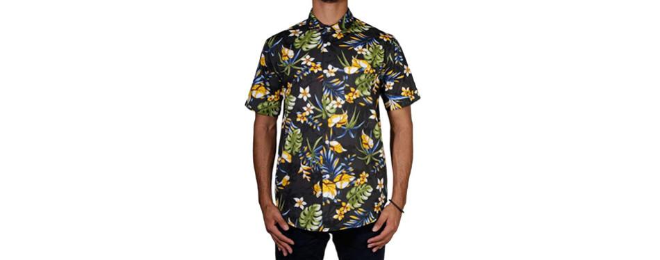 stussy paradise hawaiian shirt
