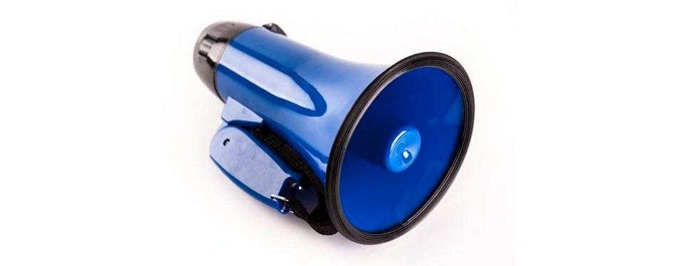 sugar home portable megaphone bullhorn
