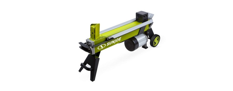 sun joe 5-ton electric log splitter