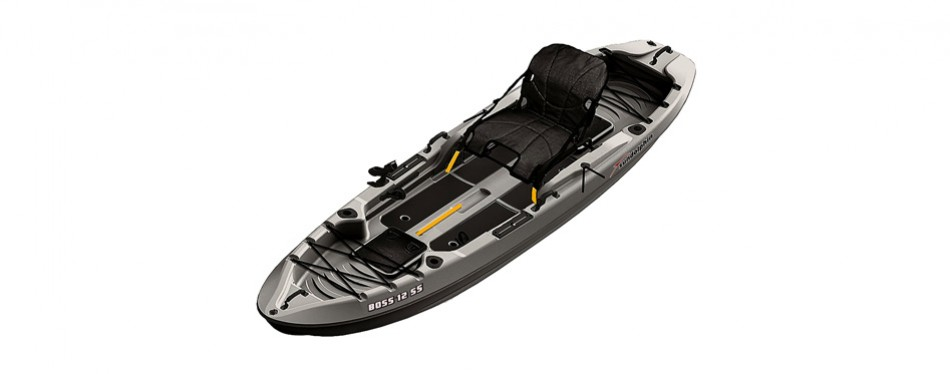 sundolphin boss ss sit on/stand on top angler kayak