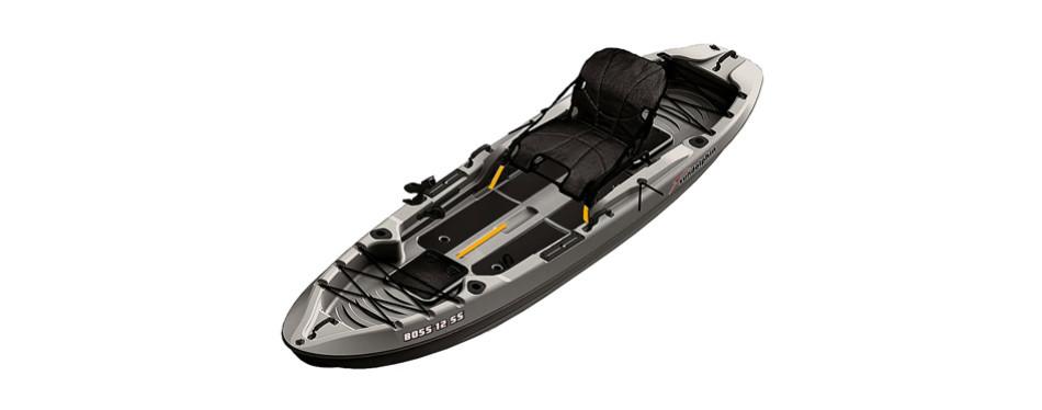sundolphin boss ss sit on/stand on top angler kayak