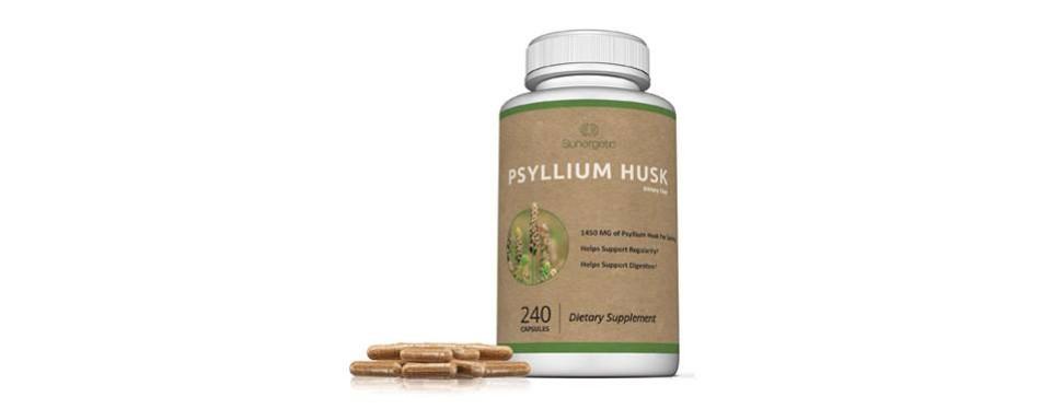 sunenergetic premium psyllium husk capsules