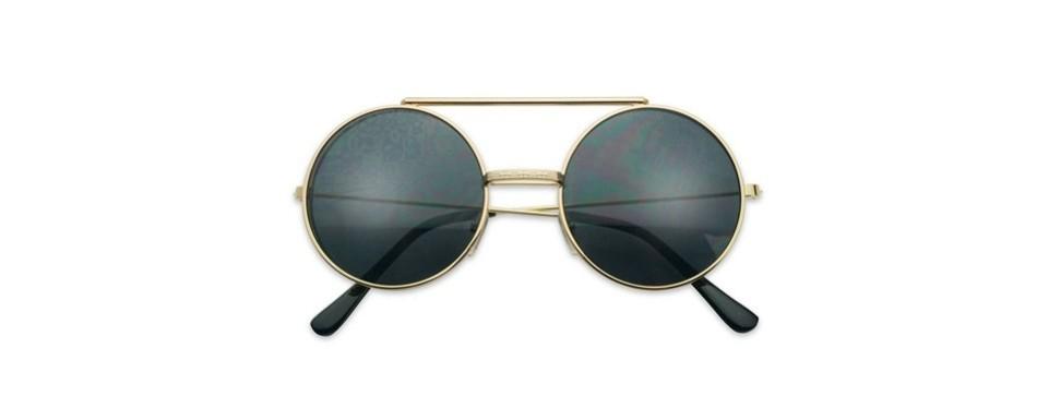 sunglassup circular django flip up sunglasses