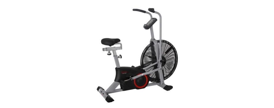 sunny health and fitness tornado air assault bike