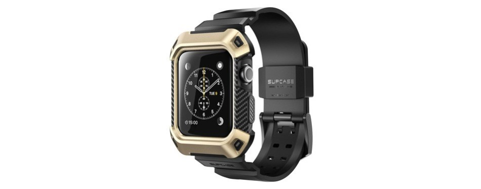 supcase unicorn beetle pro case for apple watch