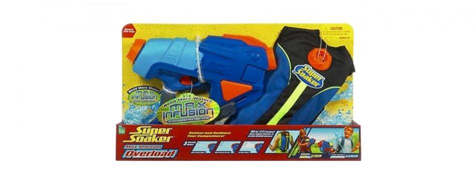 super soaker max infusion overload water gun