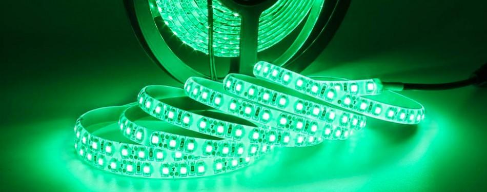 supernight 16.4ft green led rope lighting