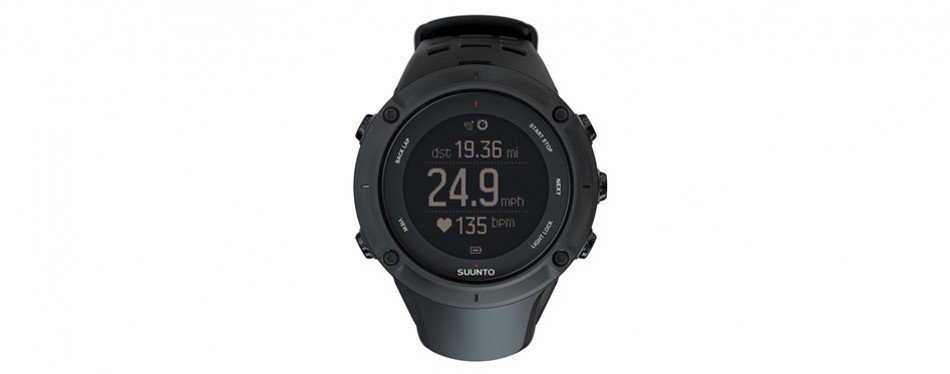 suunto ambit3 peak hr monitor running gps triathlon watch