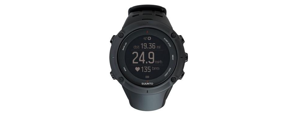 suunto ambit3 peak hr monitor running gps triathlon watch