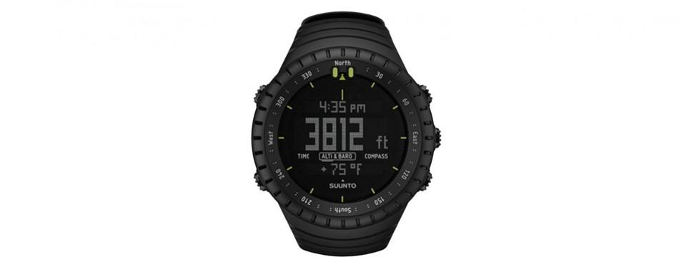 suunto core all black – military altimeter